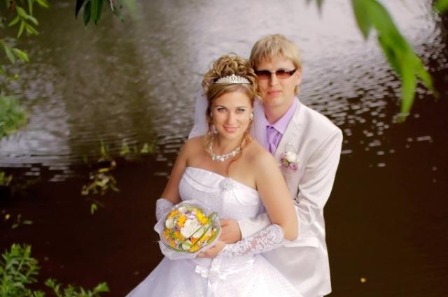 Дмитрий с девушкой Юлей