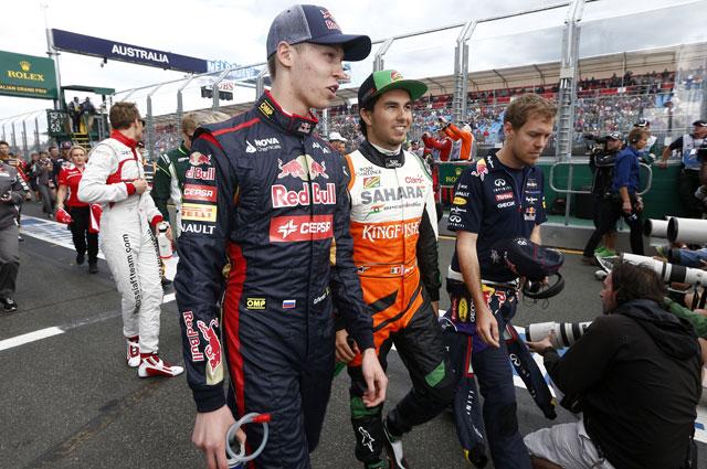 Даниил Квят и Серхио Перез. Гран-при Австралии
