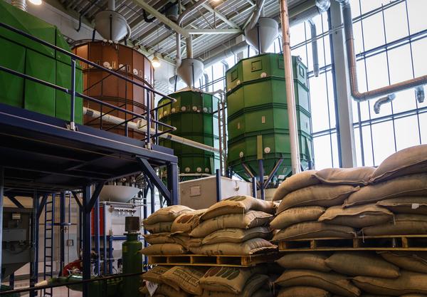 Кофеобжарочный завод в Бурашево, Тверская область.