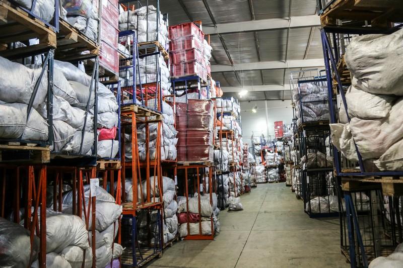 Одежда - склад и фасовка