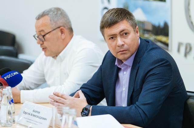 Сергей Ахапов рассказал журналистам о плодотворном сотрудничестве с застройщиком