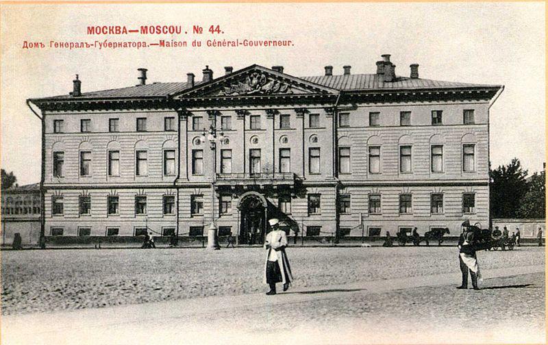 Будущее здание мэрии Москвы. 1902 г