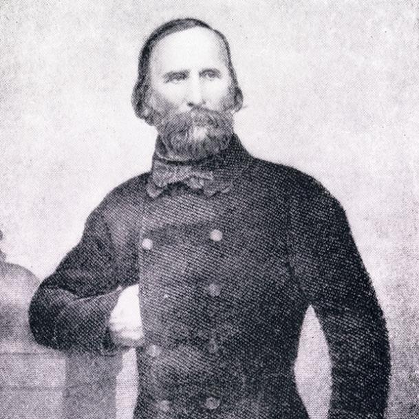 Джузеппе Гарибальди, 1848-49 гг