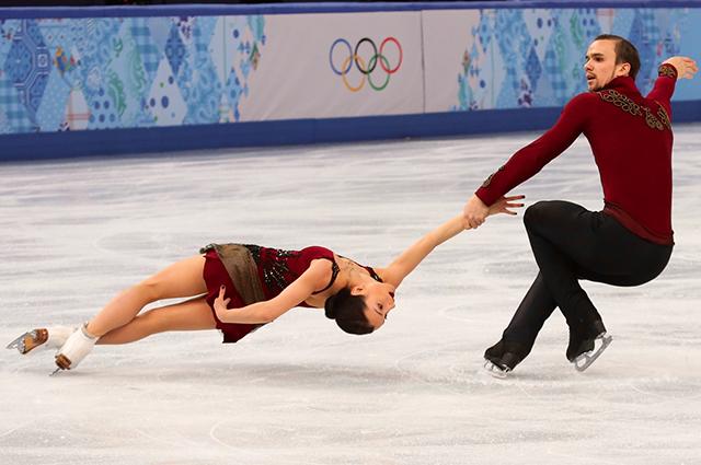 Олимпийские игры в Сочи. Короткая программа