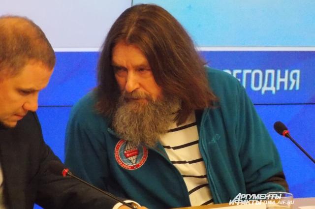 Федор Конюхов рассказал журналистам о предстоящем полете