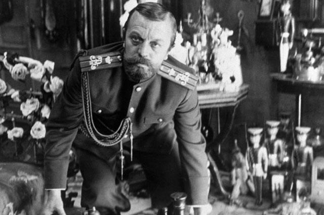 Народный артист РСФСР Анатолий Ромашин в роли царя Николая II в кинофильме Элема «Климова Агония». 1985 год