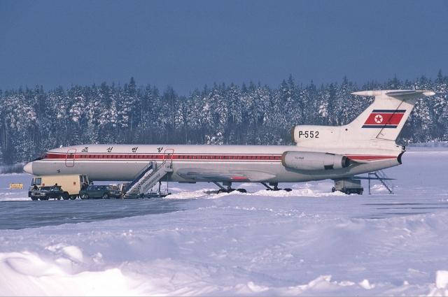 Северокорейский Ту-154 уходил от столкновения на ВПП в Иркутске.