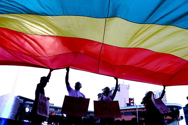 Флаг ЛГБТ-сообщества.