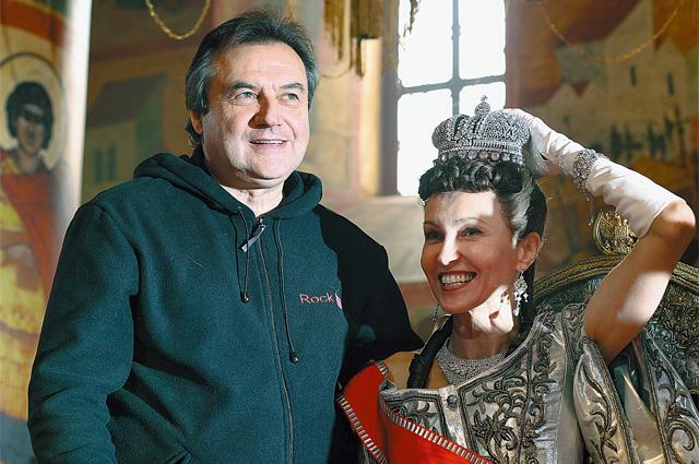 Алексей Учитель на съемках фильма «Матильда. Тайна Дома Романовых»