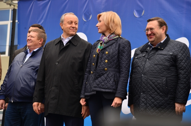 Николай Панков, Валерий Радаев, Ольга Баталина, Сергей Наумов (слева направо)
