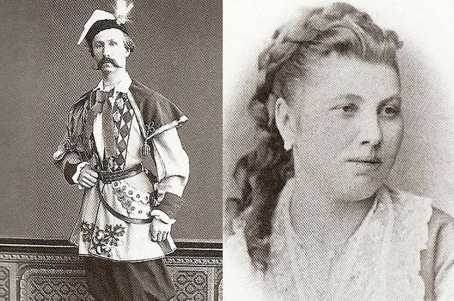 Феликс Кшесинский и Юлия Доминская
