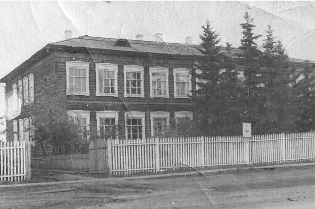 Из Усть-Уды школа Распутина переехала в Юголок.