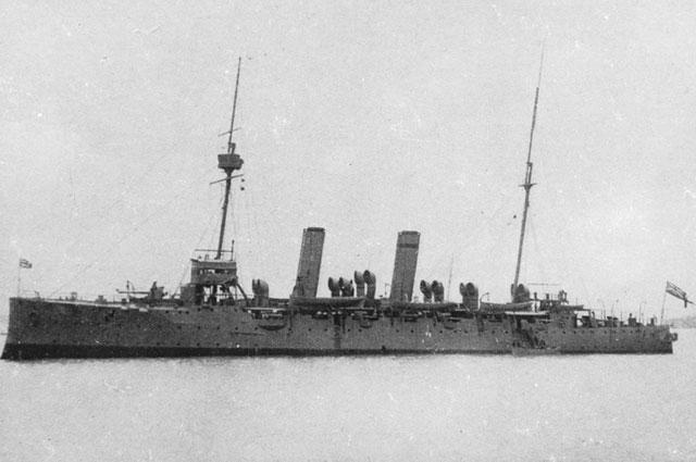 Британский крейсер «Тэлбот».