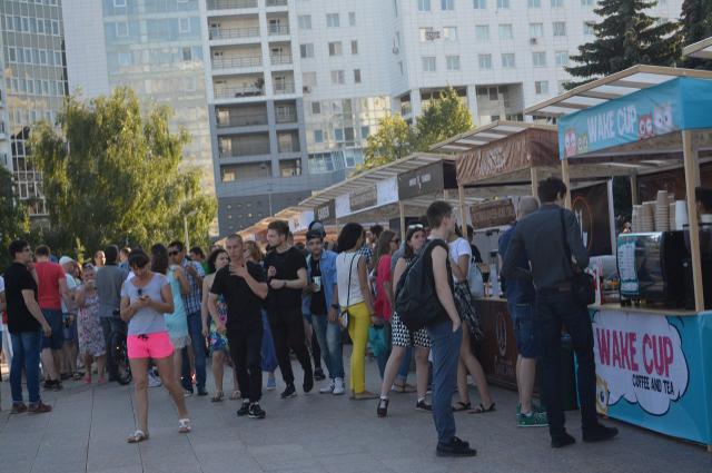 Фестиваль городских кофеен, тюмень
