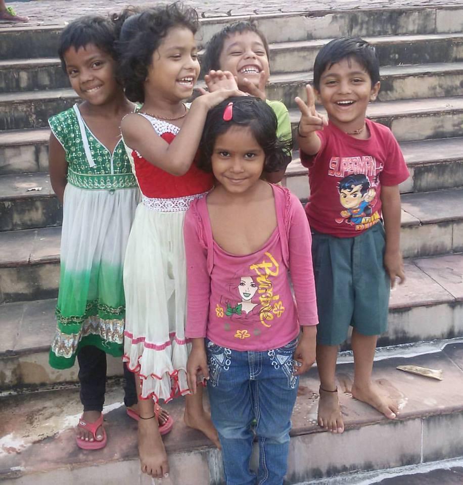 Индийские дети, Индия