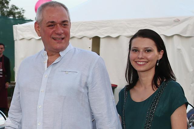 Сергей Доренко и Юлия Силявина.