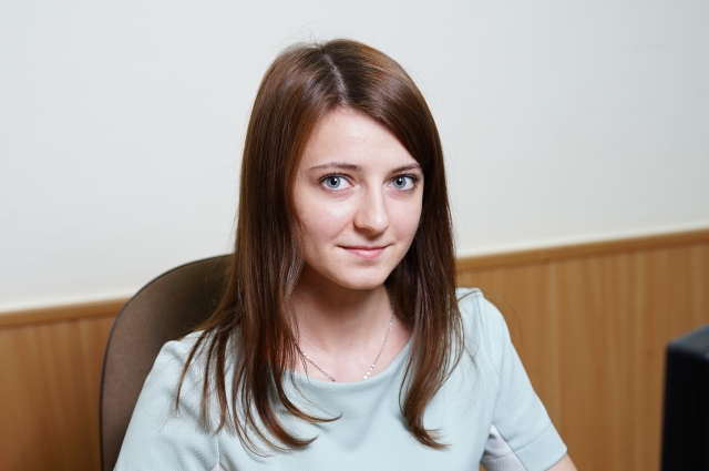 Анастасия Титовец, специалист группы технического надзора за Анастасия Титовец-неоднократный победитель корпоративных научно-технических конференций