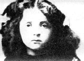 Голда Меир в возрасте 10 лет.
