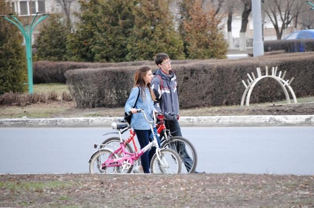 Для юных велосипедистов свои правила.