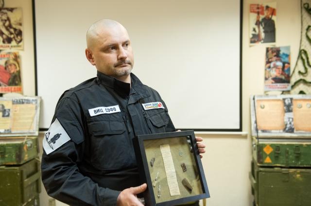 Личные вещи Нуртдина Бадрутдинова и записка из медальона