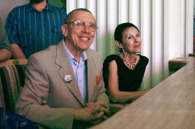 Валерий и Тамара Золотухины.