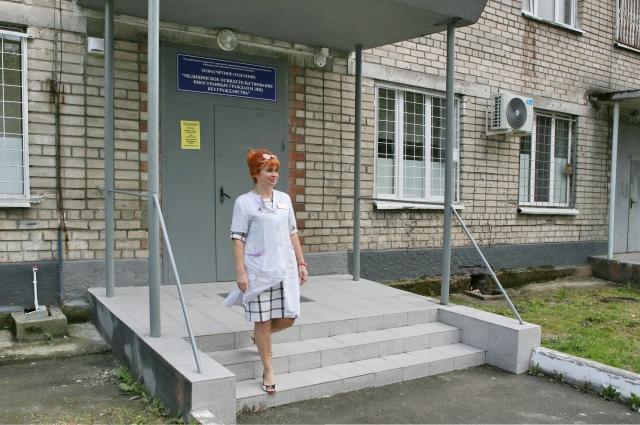 В центре медосвидетельствования мигрантов - отдельный вход.