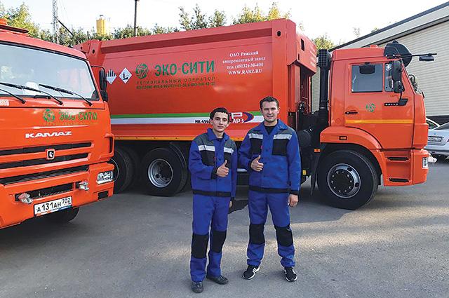 С начала года регоператор приобрёл 32 новых мусоровоза.