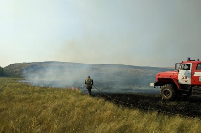 С 30 апреля  до 1 октября т.г. в области действовал особый противопожарный режим.