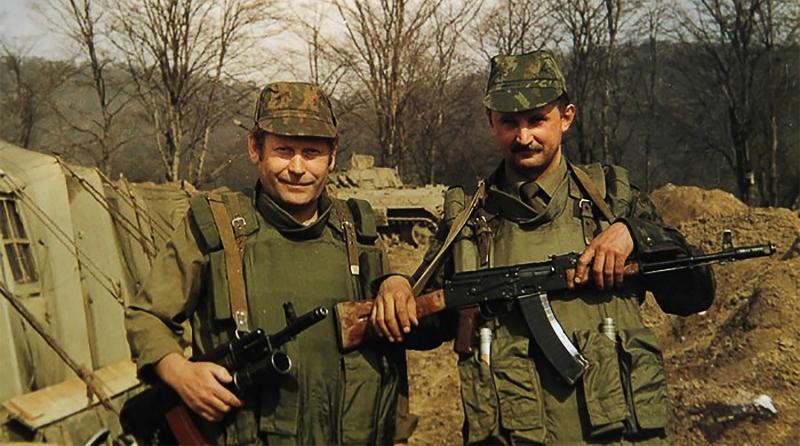 1996 год, Веденский район Чеченской республики.
