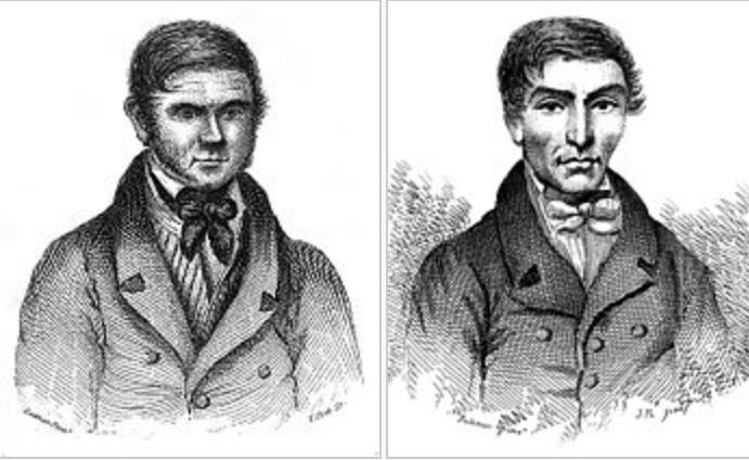 Уильям Берк и Уильям Хэр.