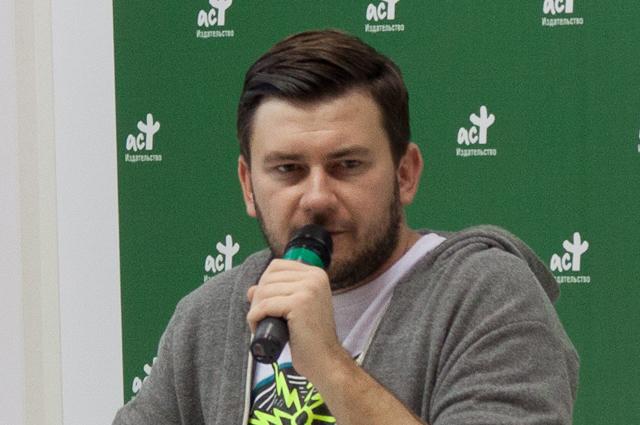 Писатель Дмитрий Глуховский.