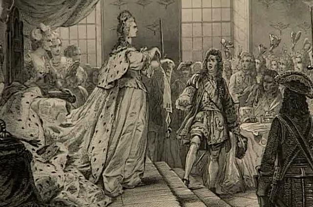 Анна Иоанновна разрывает «Кондиции».