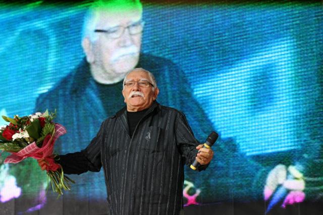 Армен Джигарханян на церемонии открытия Международного фестиваля мусульманского кино