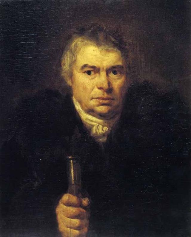 Портрет отчим художника Адама Карловича Швальбе. 1804.