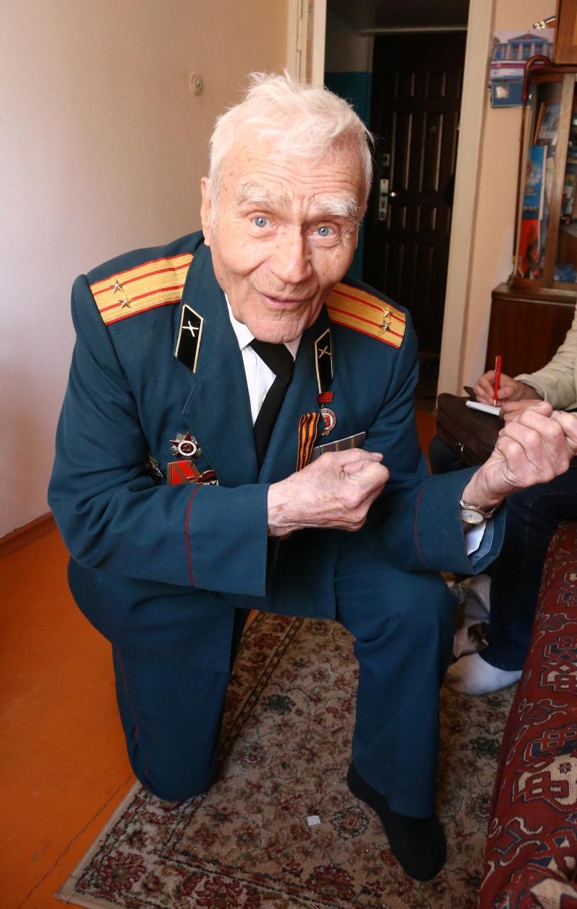 Руки Григория Ваганова и сейчас полны сил