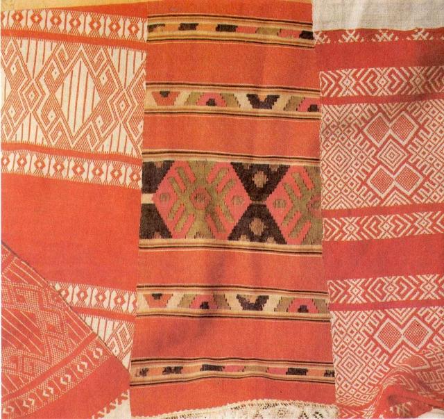 Образцы полотенец начала XX века из фондов Госмузея изобразительных искусств РТ