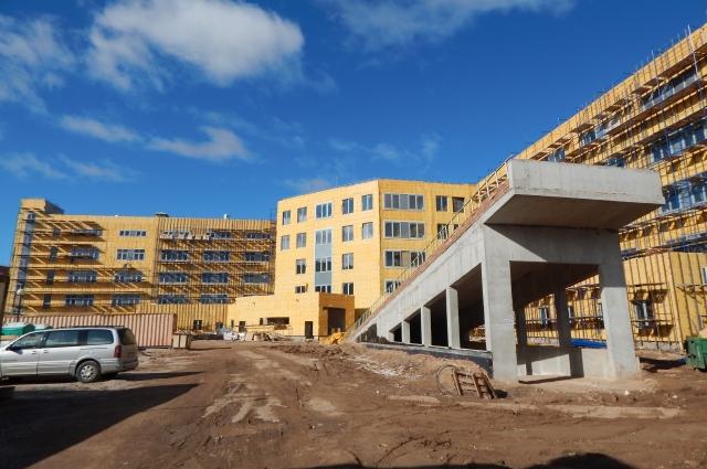 Строительство нового Перинатального центра
