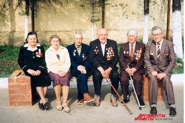 Одоевские ветераны, 1997 г.