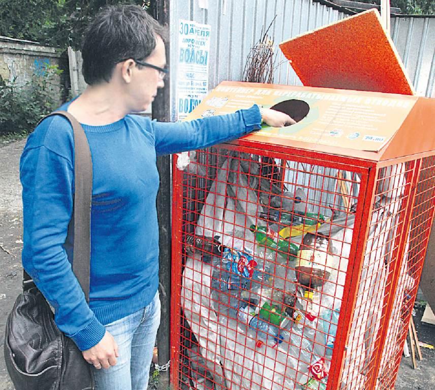 Сортировать мусор пока учат жителей Авиастроительного района.