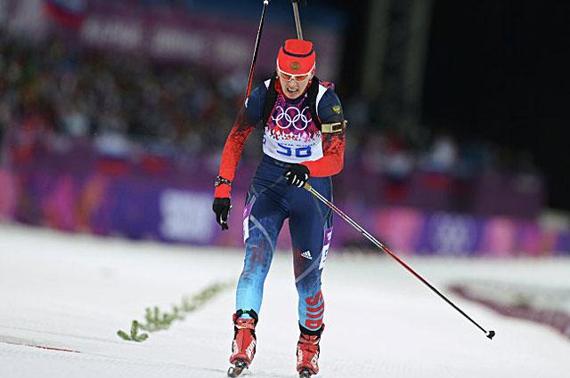 Серебряный финиш Ольги Вилухиной