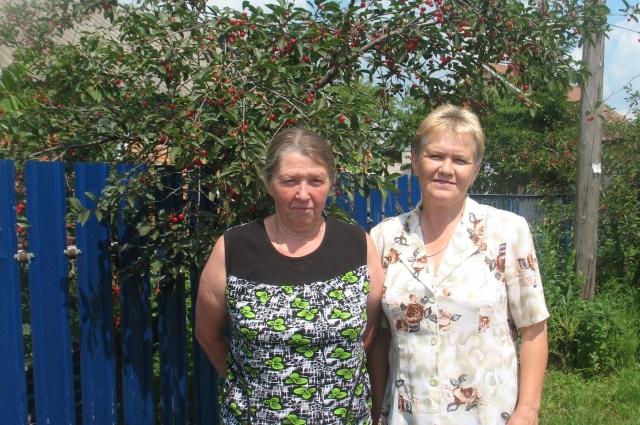 Антонина Николаева (слева) и Марина Василец
