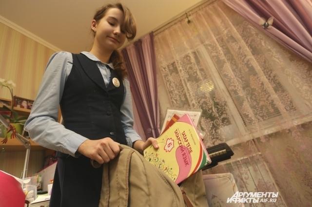 Пока школьники учатся по старым учебникам татарского, новые появятся в 2019 году.
