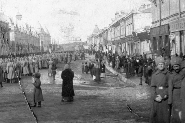Дворцовая улица, ныне лица Ленина - Любинский проспект.