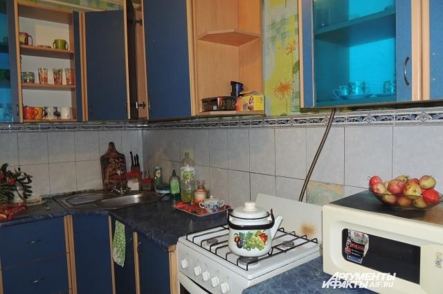 В квартире Березиных чистота и порядок.