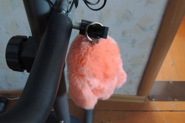 Любимая Ларисина игрушка — мягкий рыжий заяц.