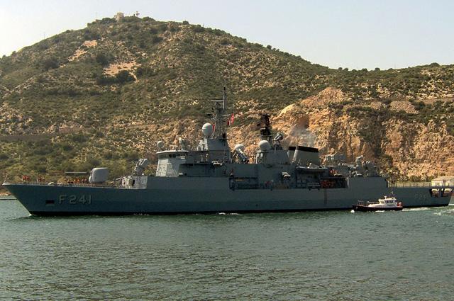 Фрегат УРО Тургутраис ВМС Турции