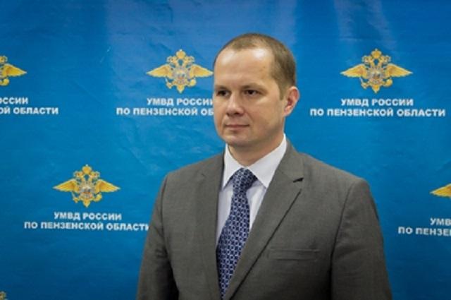 начальник отдела К УМВД по Пензенской области Михаил Чуватов