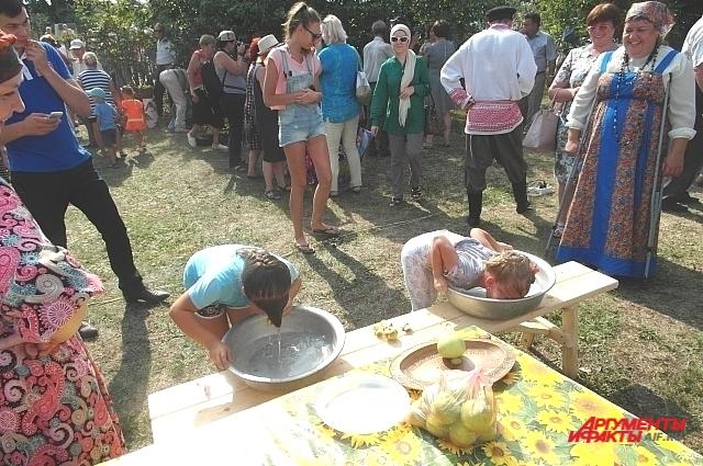 Народные забавы в Красновидово, чем не Сабантуй?