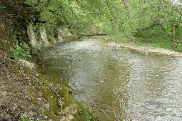 Река Бельбек.