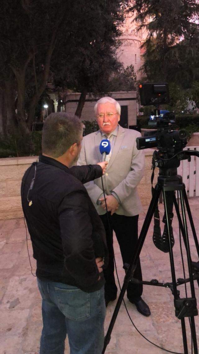 Игорь Ашурбейли ответил на вопросы журналистов.